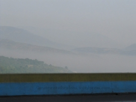 Multilayer Mountain Range with morning Fog. Such an Eye Soothing scene.