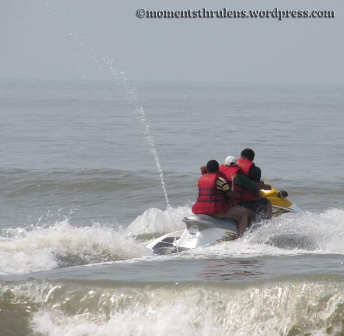 Sea Motor Biking