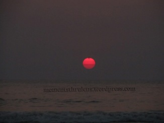 I love my this particular click, beyond words, just cause Sun turned Pink (my fav color) before leaving for the day....and the colored layers made it more amazing to click.