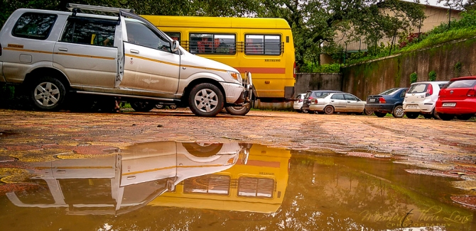 Puddly Reflection @Parsi Point