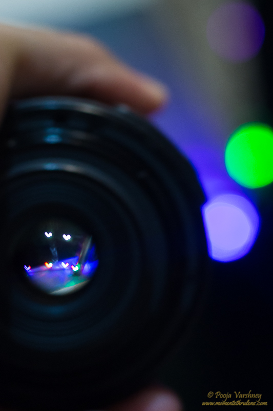 Hearts and Bokeh in one frame