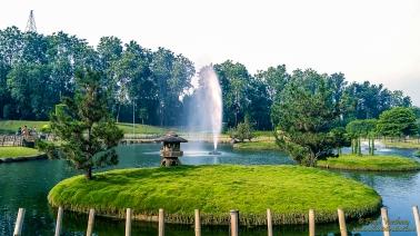 Beautiful View of Water Fountain